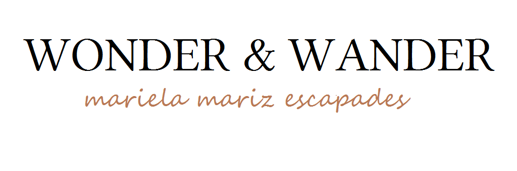 Wonder and Wander